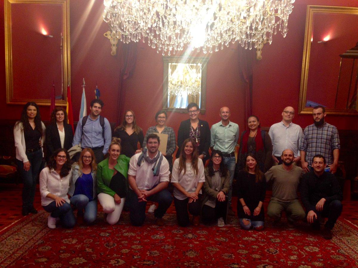 Recepción ás persoas participantes no IV Encontro de Economía Social para Novos Investigadores