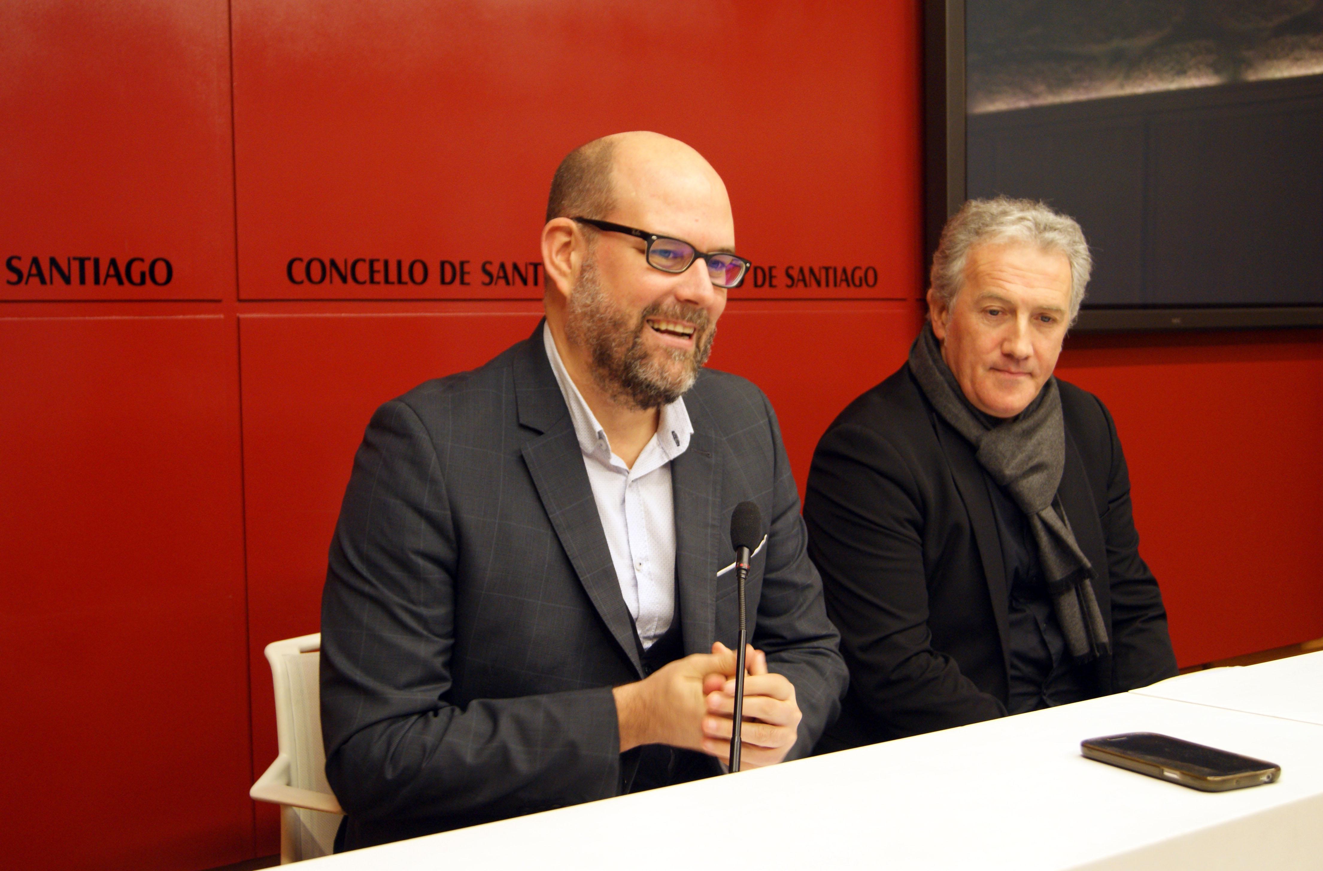 Martiño Noriega e Xavier Freire.