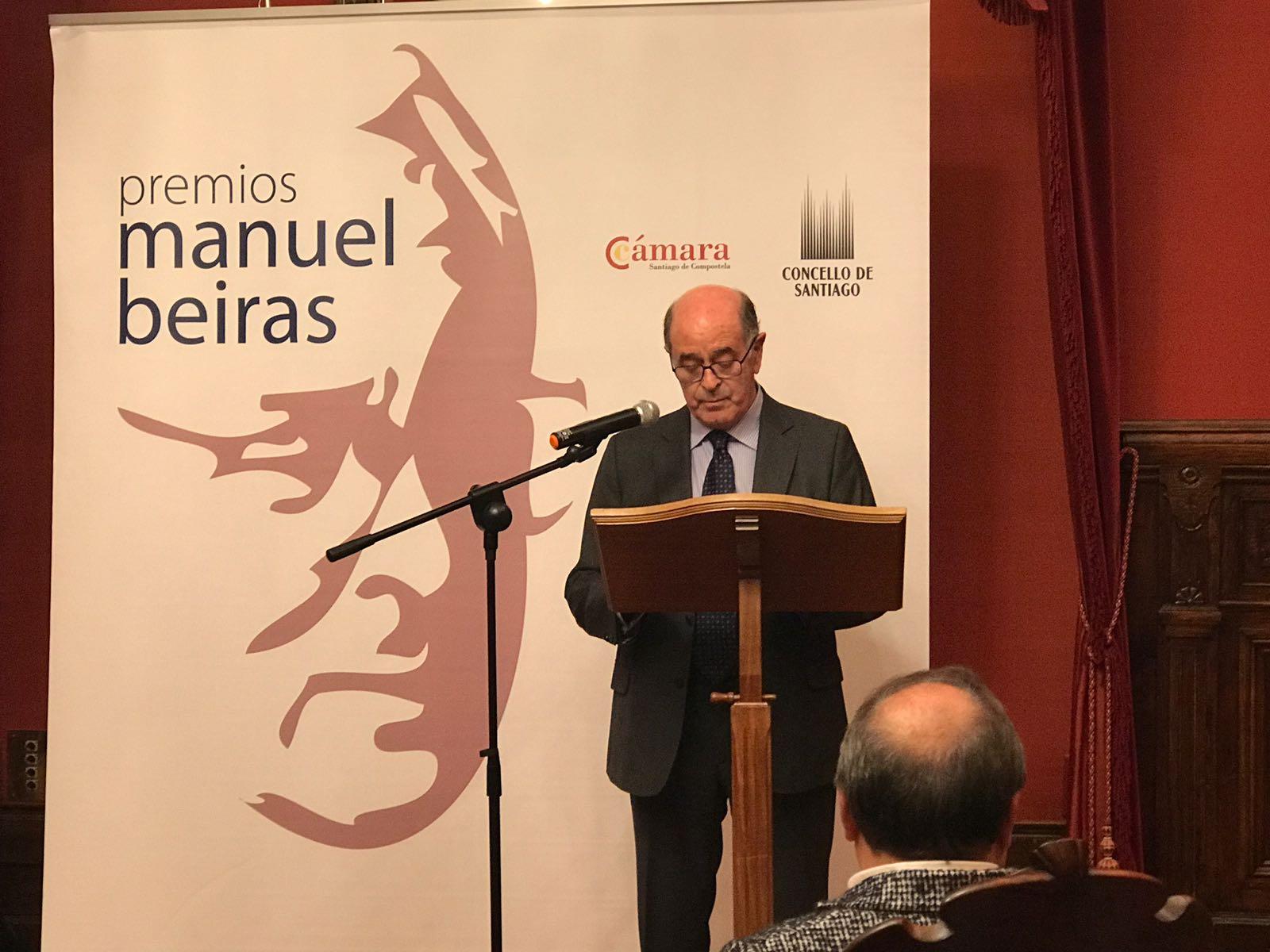 José Sierra, presidente da Cámara de Comercio de Santiago.