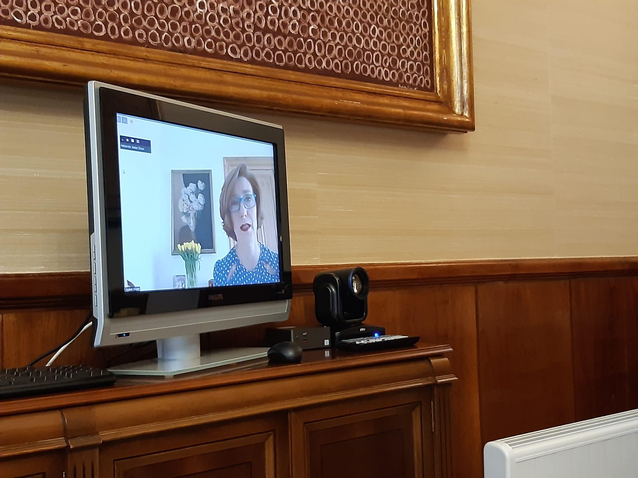 Intervención de Isabel Oliver, secretaria de Estado de Turismo.