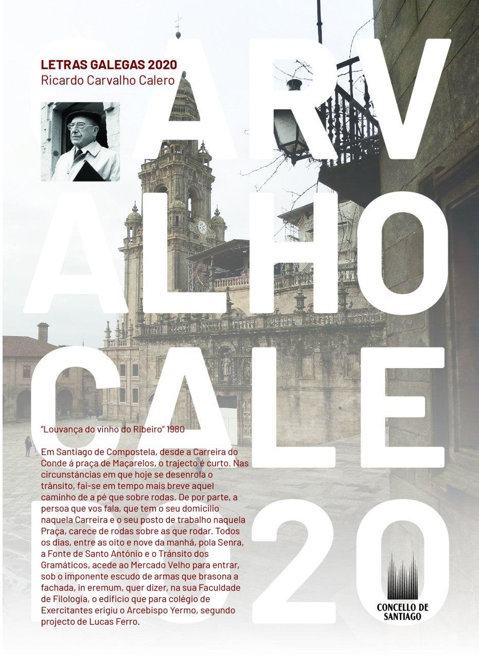 Lembrando a Ricardo Carvalho Calero no Día das Letras Galegas.
