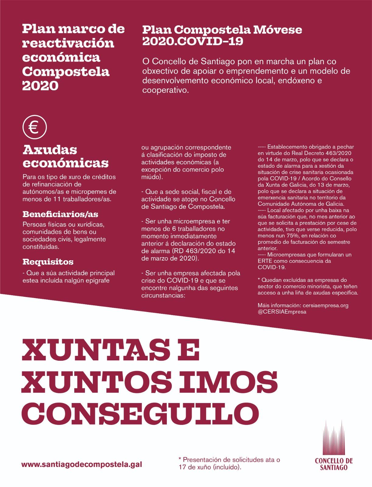 Plan Marco de Reactivación Económica.