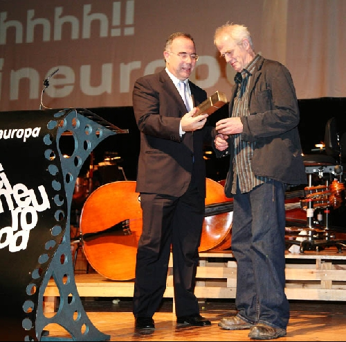 Entrega do Premio Cineuropa a Stephen Warbeck